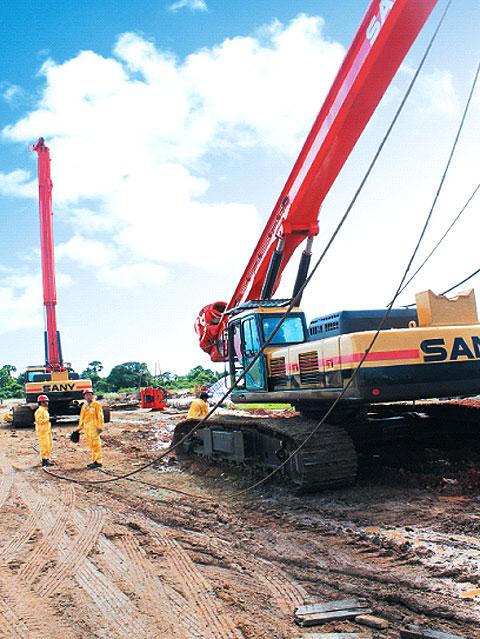 尼日利亚LAGOS,OJO LOCAL GOVERNMENT工程施工项目