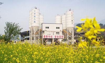三一设备参与重庆武隆南涪铁路建设施工项目