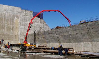 俄罗斯萨扬舒申斯克水电站(俄最大水电站)重建施工项目