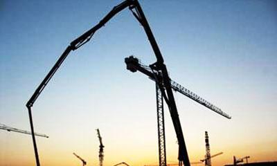 三一拖泵参与2009年塞黑夏季大学生运动会体育馆建设施工项目