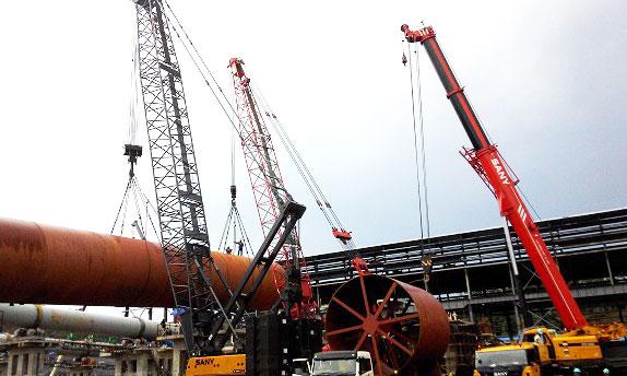 印尼莫罗瓦利青山工业园建设施工项目