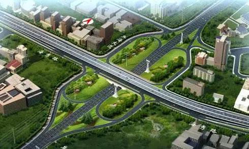 全天北京pk10赛车计划旋挖钻机参加海口高架桥快速干道工程建设施工项目