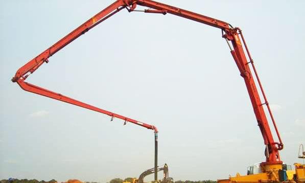 三一泵车参与安哥拉商业住房建设施工项目