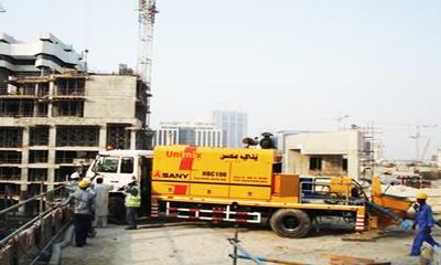 阿联酋商业湾广场施工项目