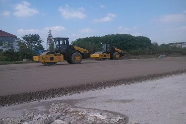 江苏靖江沿江高等级公路养护改善项目施工项目