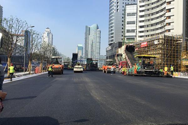浙江省宁波市政集团宁波市中山西路改造工程施工项目