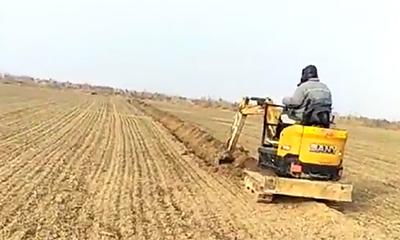 农场建设,三一微挖承包全套工程!施工项目