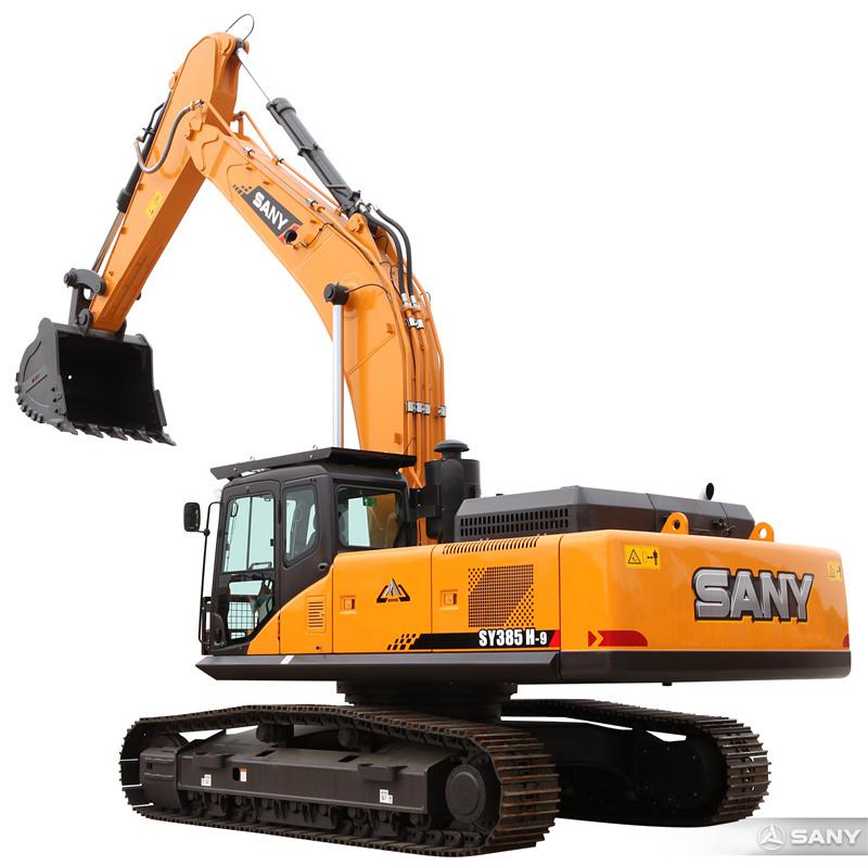 SY385H-9大型挖土机