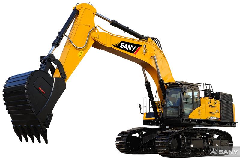 SY700H-8大型挖掘机外观图