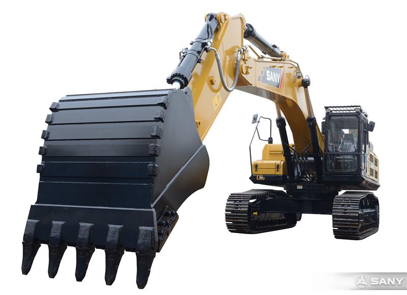 SY485H-10挖掘机超长臂