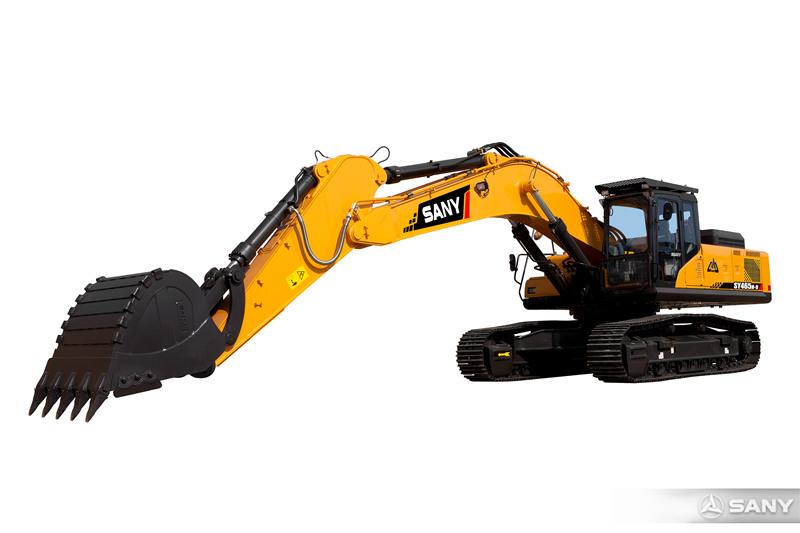 SY465H-9挖掘机伸长臂