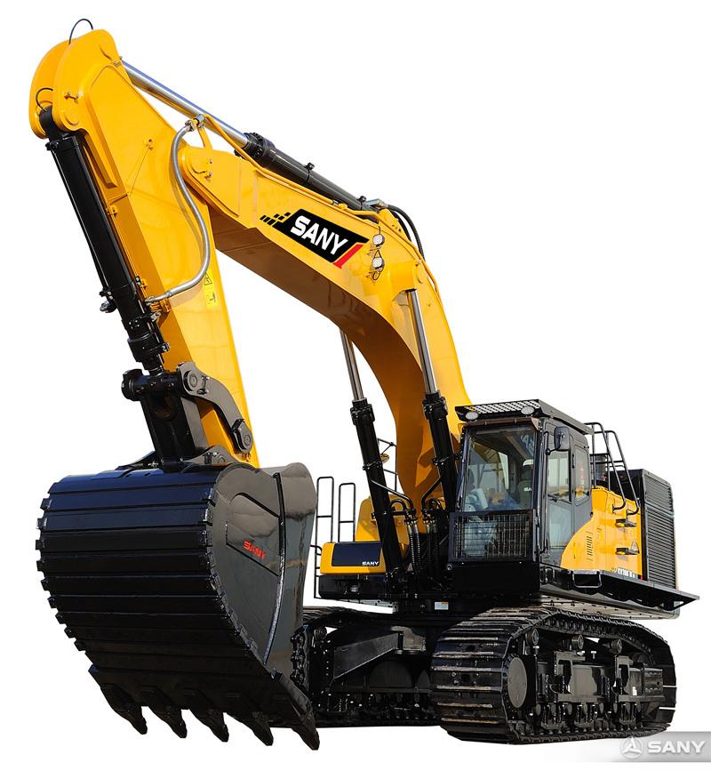 SY700H-8挖掘机正面图