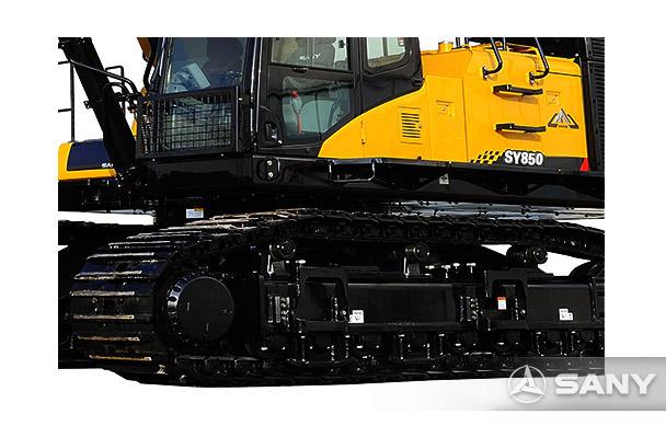 SY850H-8挖掘机履带装置