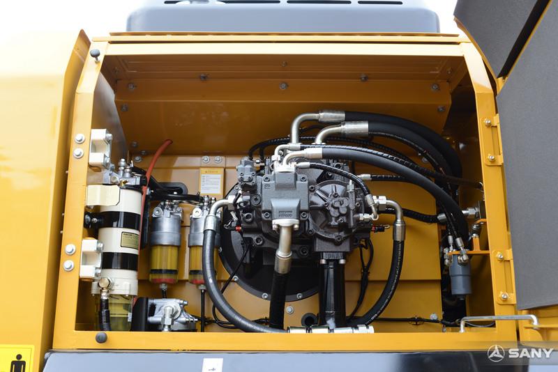 SY485H-10挖掘机柱塞泵