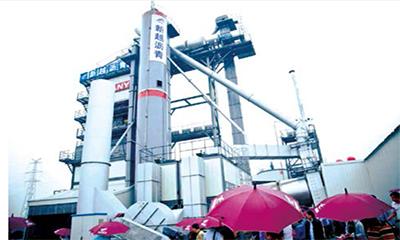 吴水辉:与三一重工联手,建设环保型沥青搅拌站
