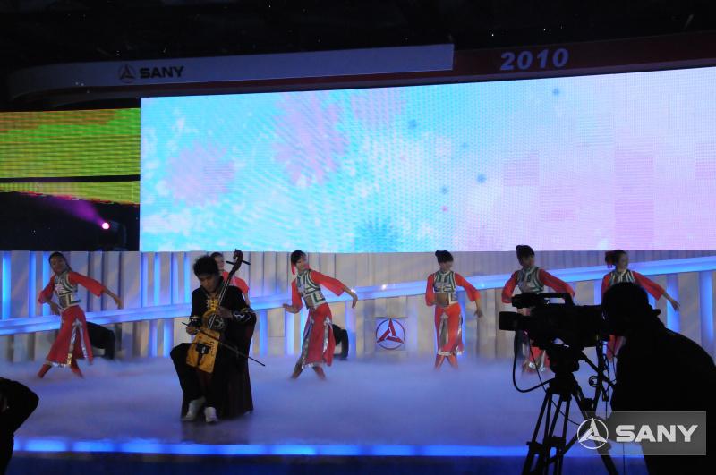 民族舞蹈别开生面的三一年度峰会