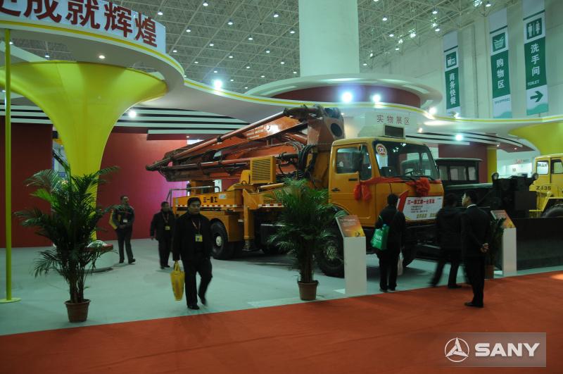 三一亮相建国60周年机械行业展
