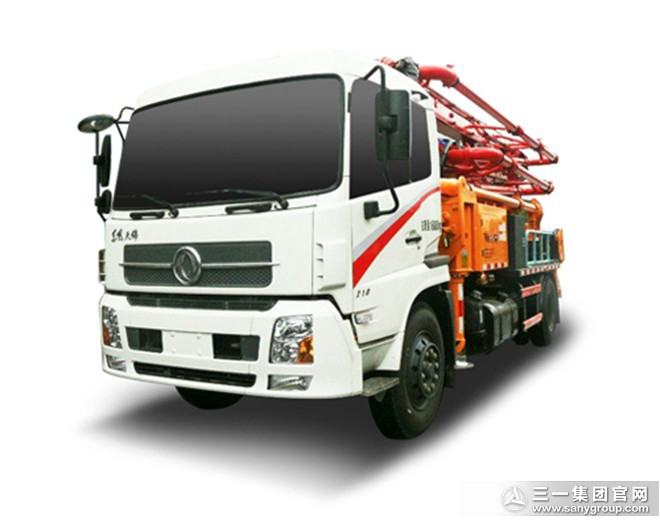 V8系列混凝土泵车SYM5165THBDD 25