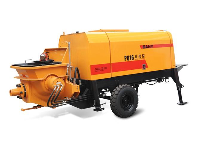 液压活塞砂浆泵P816