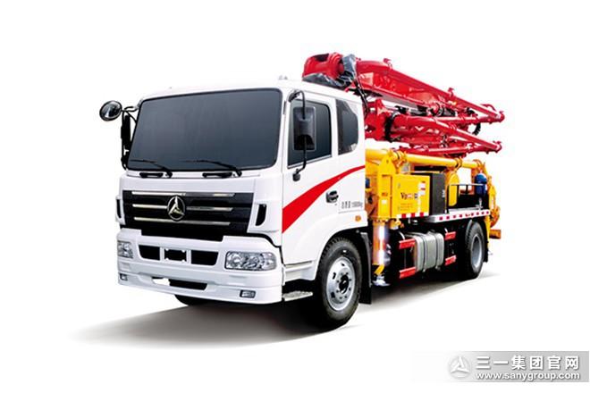 V8系列混凝土泵车SYM5163THBDS 23