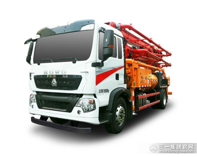V8系列混凝土泵车SYM5190THBDZ 30