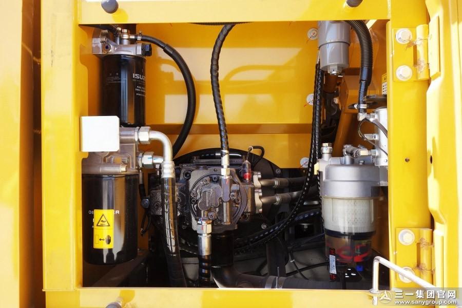 矿山型小挖  无插件直播SY115C液压挖掘机图赏