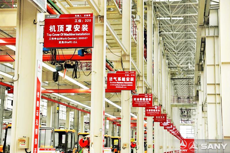 ca88亚洲城娱乐临港产业园生产装配车间