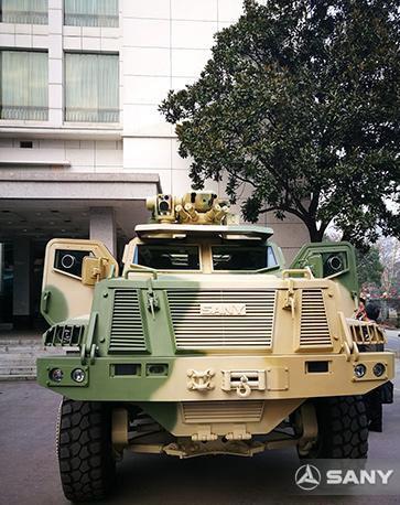 轻型防护型高机动突击车