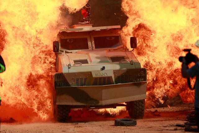 2017 年北京国际工程机械展 三一新品冲锋消防车