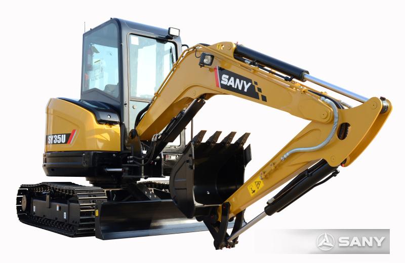 三一SY35迷你型挖掘机
