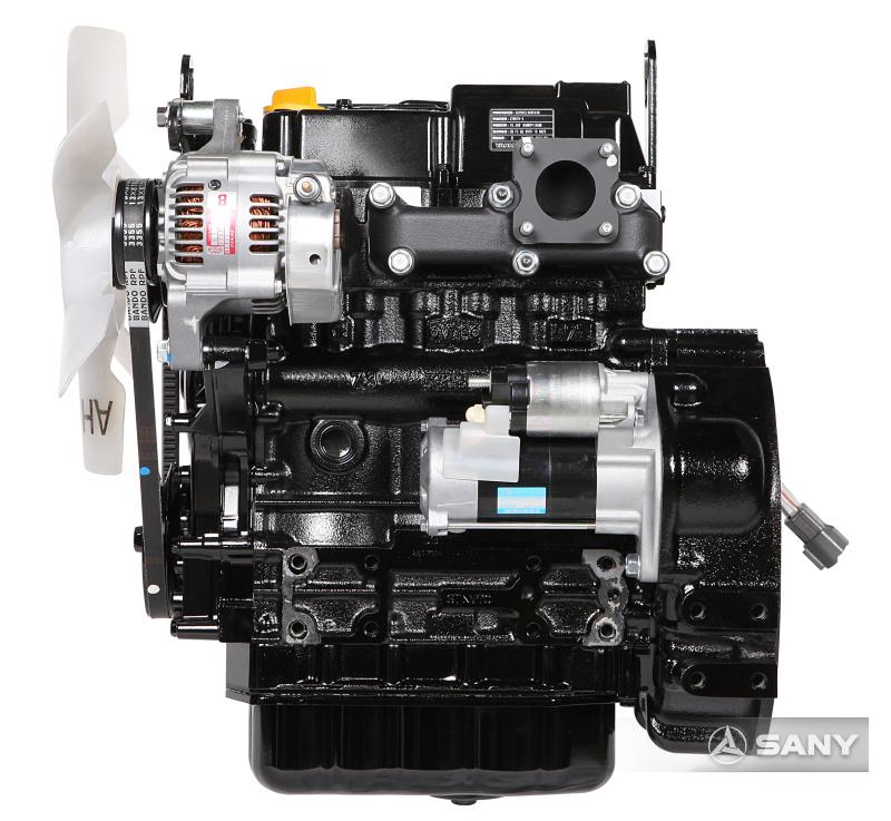 SY16C发动机图片