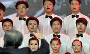 红网:三一集团1500人唱红歌庆祝中国共产党成立90周年