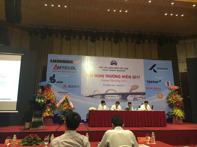 三一海洋重工贊助2017越南VPA港口年度會議