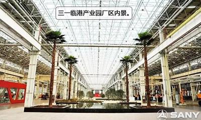 中国*美微挖工厂 走近三一挖掘机装配车间(图文)