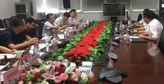 沈阳市国税局领导到我司调研