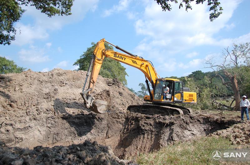 三一挖机设备施工案例之国际篇