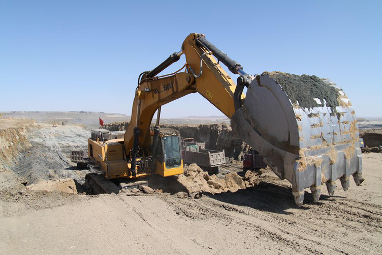 三一挖掘机施工案例之矿山作业