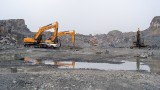 SY335C在连云港采石场现场