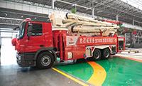"""猴年收官之作:""""消防侠""""再添新成员,三一重工38米消防车成功下线!"""