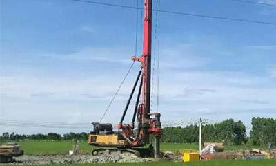 146米!三一SR420创造中国旋挖施工最深记录!