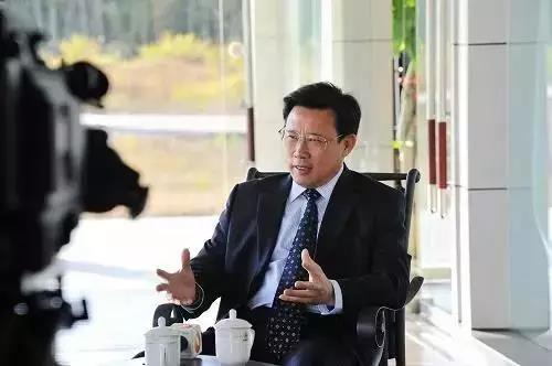 永州市委书记李晖与梁稳根洽谈三一在永州投资事宜