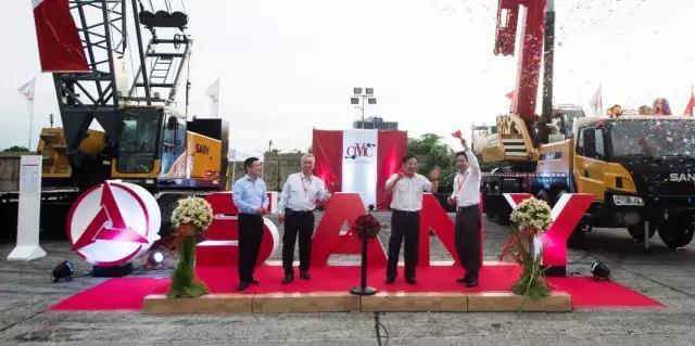这场推荐会告诉我们,三一才是菲律宾吊装市场的第一品牌
