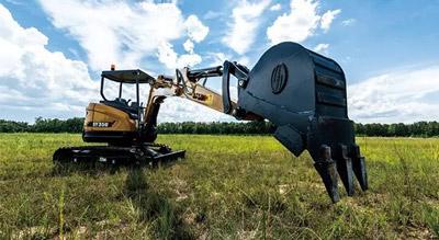 园林绿化专用挖掘机-SY16C-10挖掘机