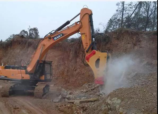 挖掘机10大高难度技术之——如何打破碎锤?