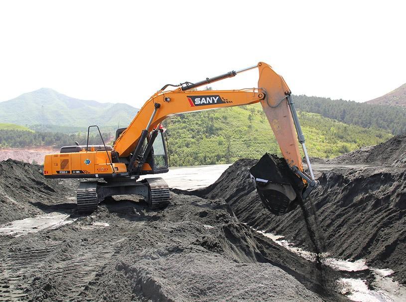 液压挖掘机正确的操作方法,机器停车、停放和完工后的检査