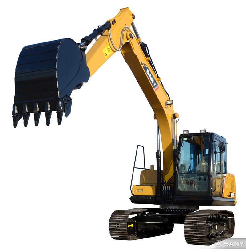 三一155C-10小型液压挖掘机伸长臂