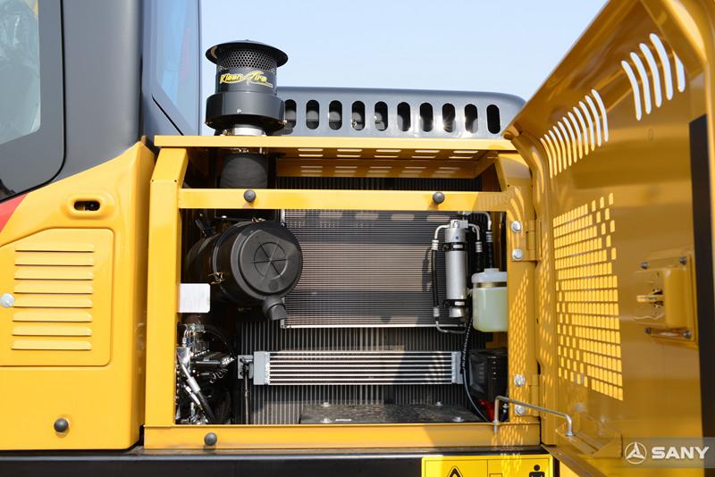 挖掘机预滤器、空调冷凝器、消声器