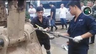 三一救援队参与遂昌山体滑坡救援