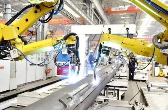 """三一全产业链示范应用 """"智造""""离散型工程机械"""