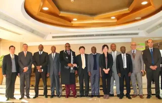 非洲11国驻华大使与三一集团共话合作 喜迎新春